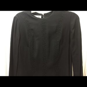 Dresses & Skirts - VINTAGE Black Crepe Dress from 50's 😯🤭😃